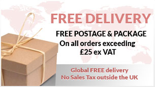 Free Delivery on Orders over £25.00 - Excluding VAT
